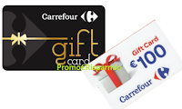 Logo Carrefour ''Contest H24'': vinci Gift Card da 100€