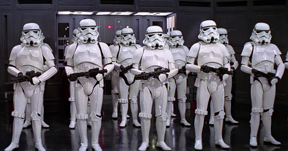 Ejercito imperial. La guerra de las galaxias