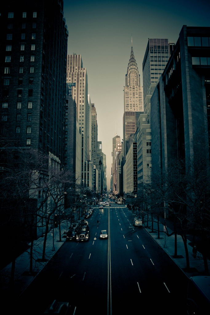 42nd street in New York City