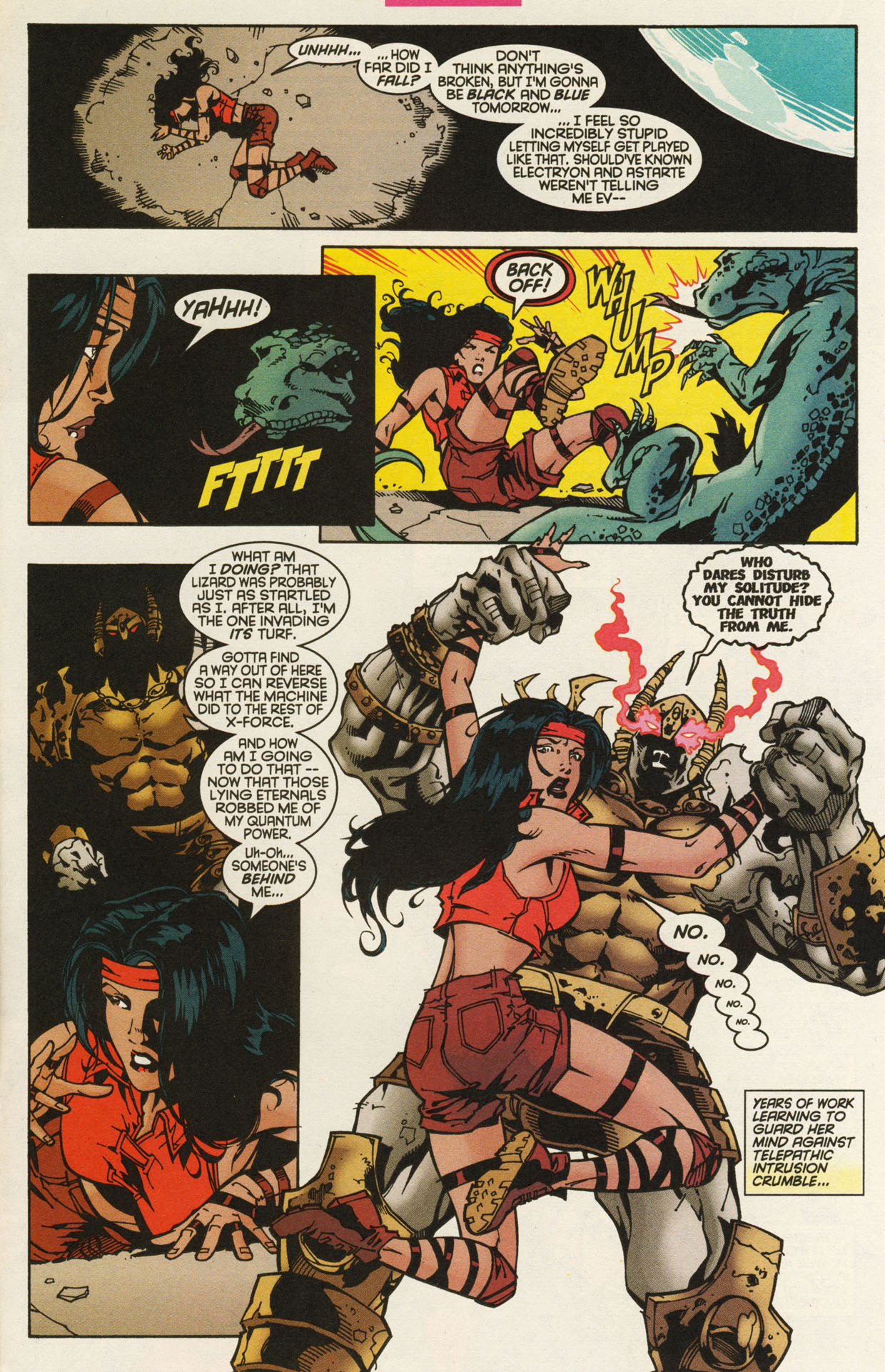 Read online X-Force (1991) comic -  Issue #93 - 21