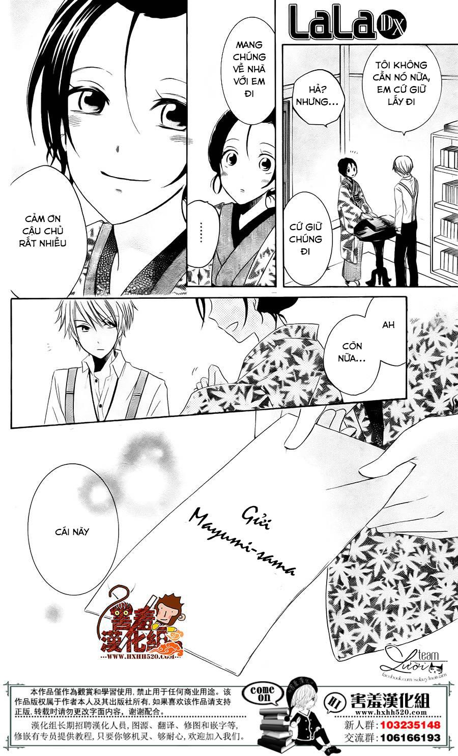Haikei Mayumi-sama chap 3 - Trang 21
