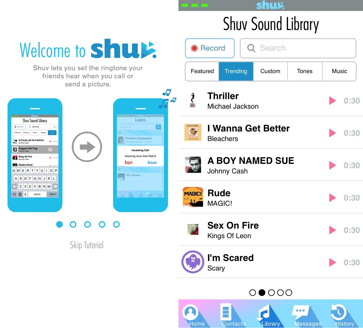 Download Shuv iOS App