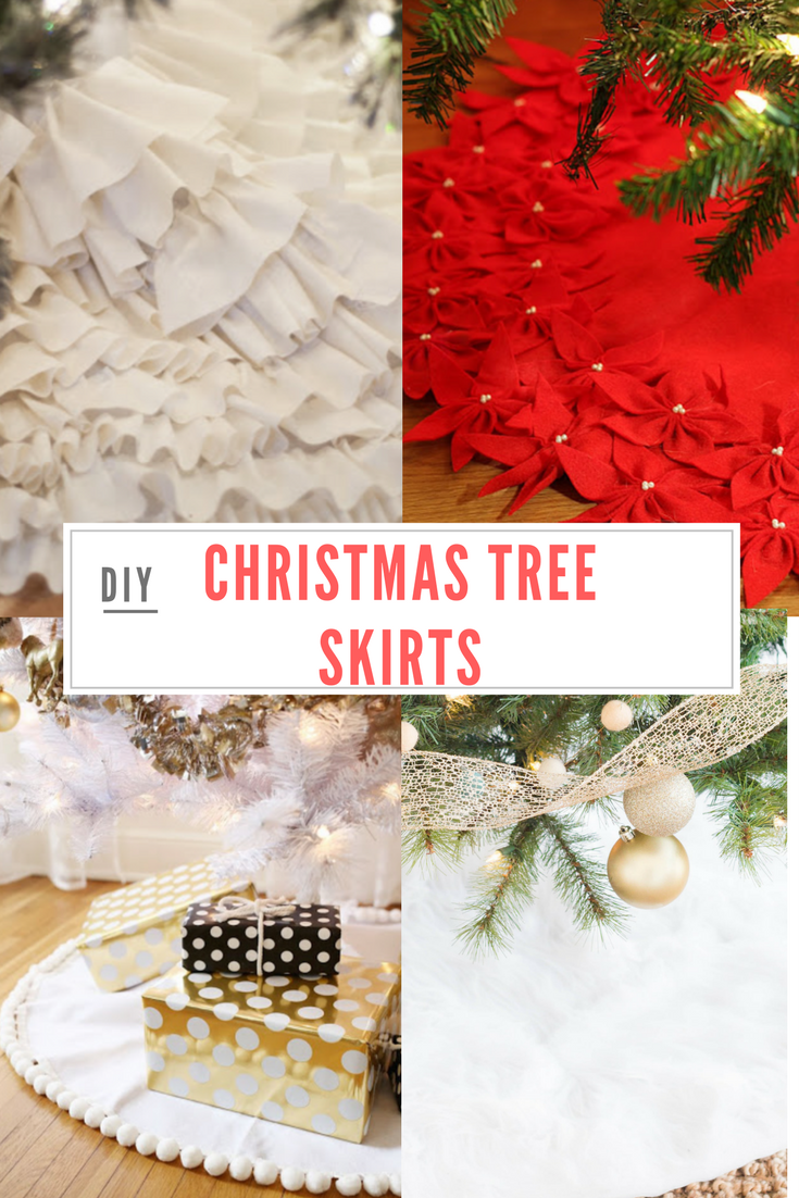Do it yourself divas 8 beautiful diy christmas tree skirts the do it yourself divas solutioingenieria Image collections