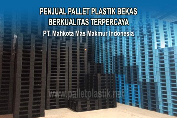 Tempat Jual Pallet Plastik Bekas Berkualitas Terpercaya