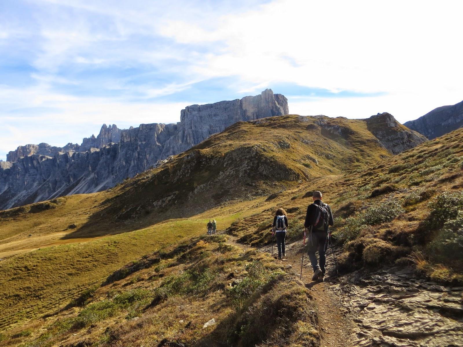 escursione a mondeval da passo giau