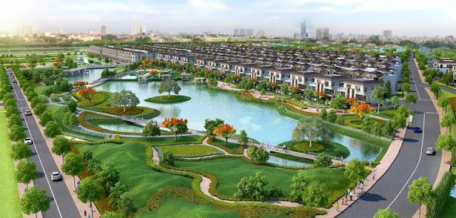 Hình ảnh dự án Lavila Kiến Á tại khu vực nhà bè.