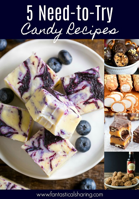 5 Need-to-Try Candy Recipes #candy #recipe #dessert