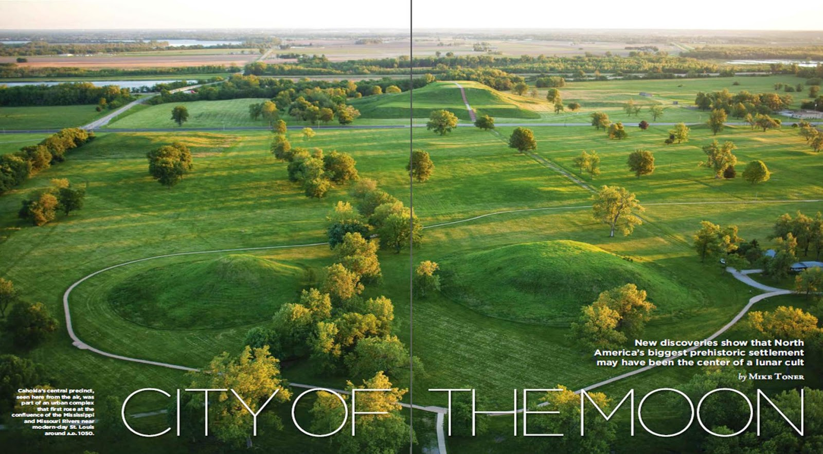 Archaeology Magazine March/April 2015. City of the Moon. Mike Toner. Image Courtesy of Archaeology Magazine.
