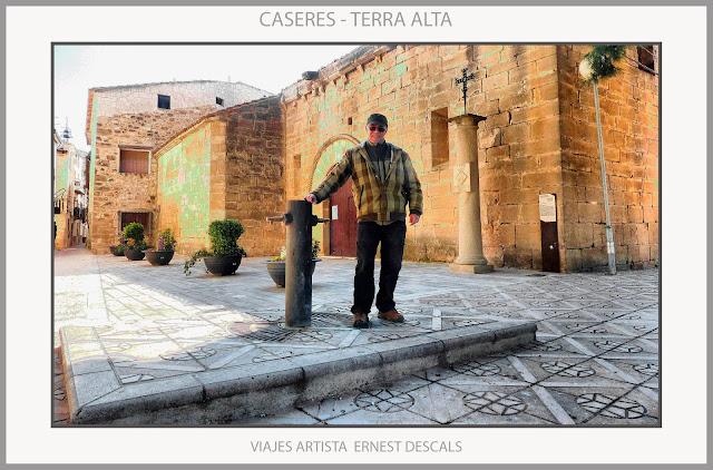 CASERES-TERRA ALTA-POBLES-TARRAGONA-PAISATGES-FOTOS-VIATJAR-ARTISTA-PINTOR-ERNEST DESCALS-