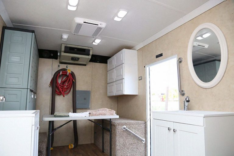 Activist Buys Old Truck And Converts It Into Mobile Shower For The Homeless… Take A Peek Inside!