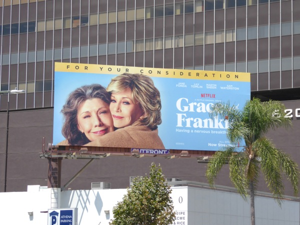 Grace Frankie season 2 billboard