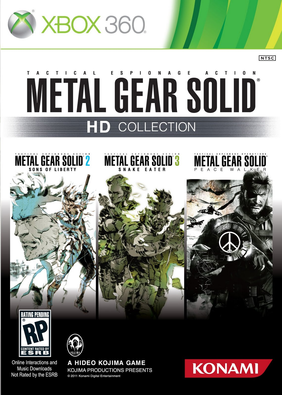 Free Downloaded Gamez: Free Download Metal Gear Solid HD ... Xbox 360 Game Covers Download