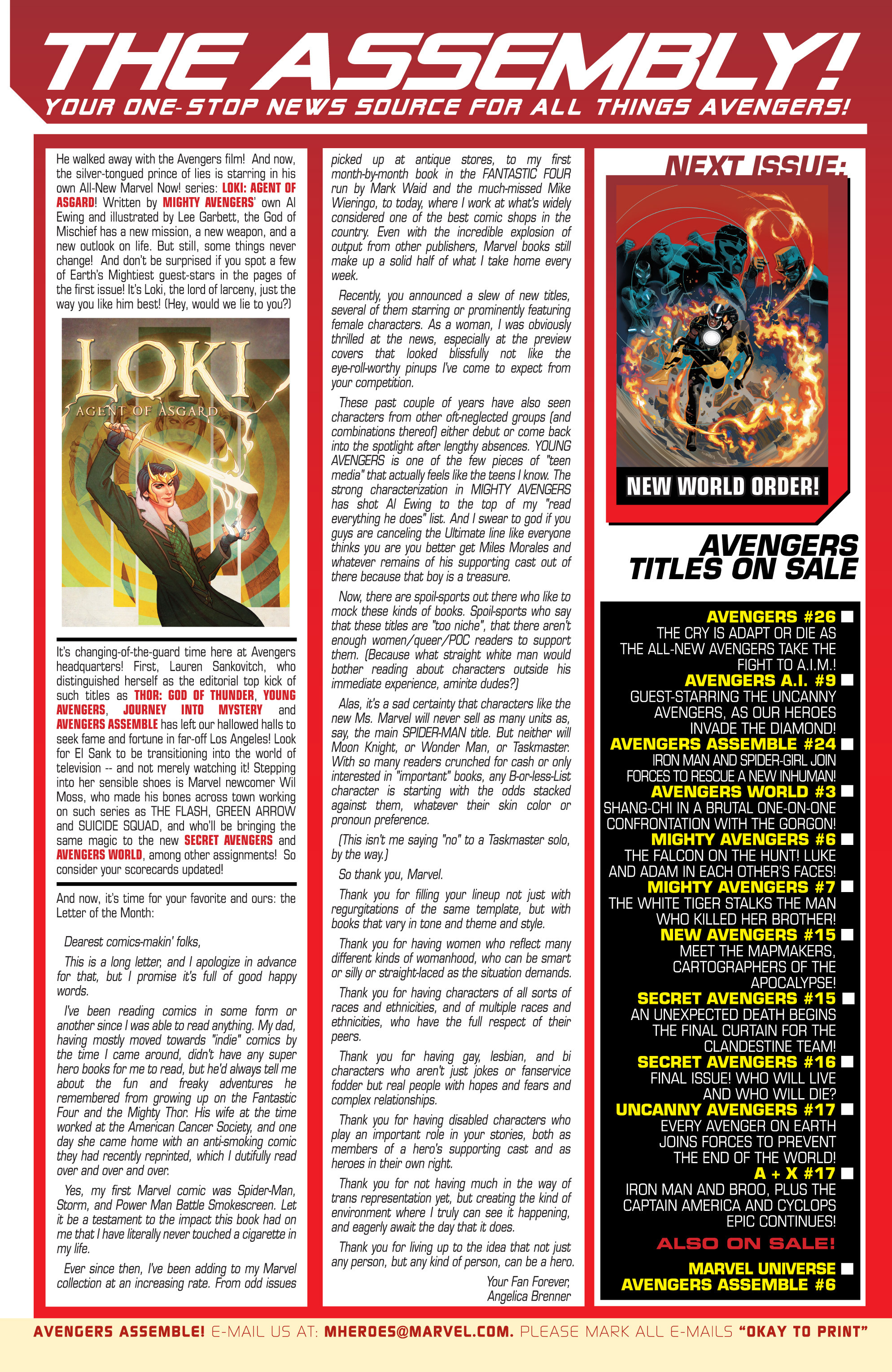 Read online Uncanny Avengers (2012) comic -  Issue #17 - 26