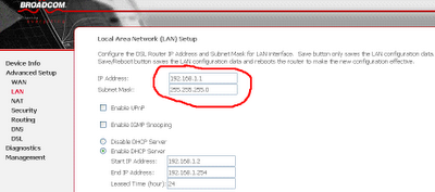 Configure router 1 for multi-cascading