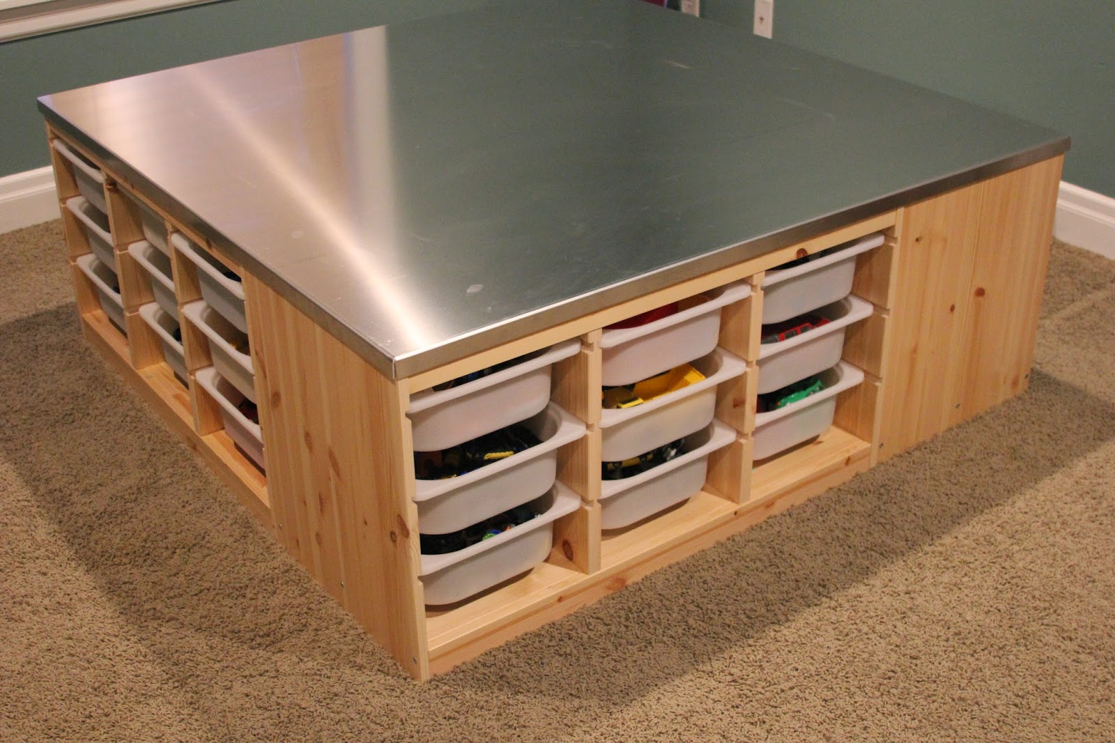 Time Of Our Lives Project Playroom Play Table With Storage