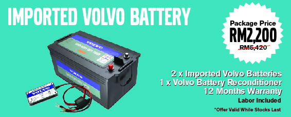 Truck News Volvo Trucks Malaysia Have A Promotion On Their Imported Battery While Stocks Last
