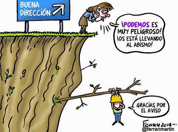 Viñeta Podemos