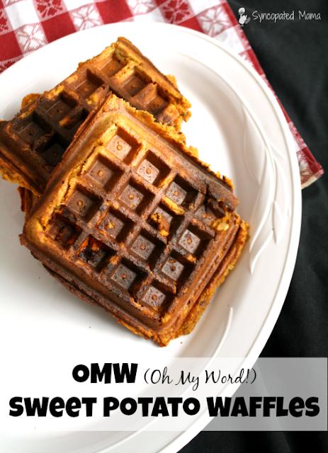 Syncopated Mama: OMW (Oh My Word!) Sweet Potato Waffles