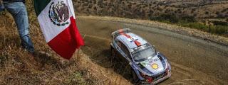 Echipa Hyundai Motorsport s-a clasat pe podium in Raliul Mexicului