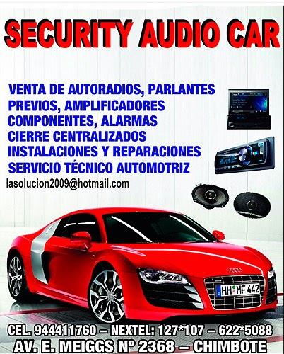 SECURITY AUDIO CAR