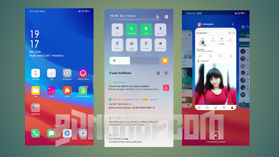 ROM Color OS 6 whyred PIE 9