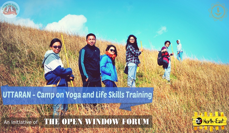 Uttaran - The Two Days Camp on Yoga and Life Skills Training in North-east India