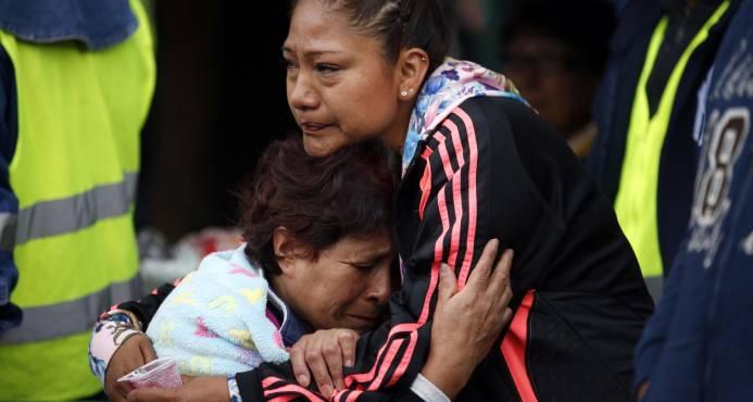 Familias de desaparecidos no pierden esperanzas tras sismo en México