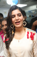 Samantha Ruth Prabhu Smiling Beauty in White Dress Launches VCare Clinic 15 June 2017 033.JPG