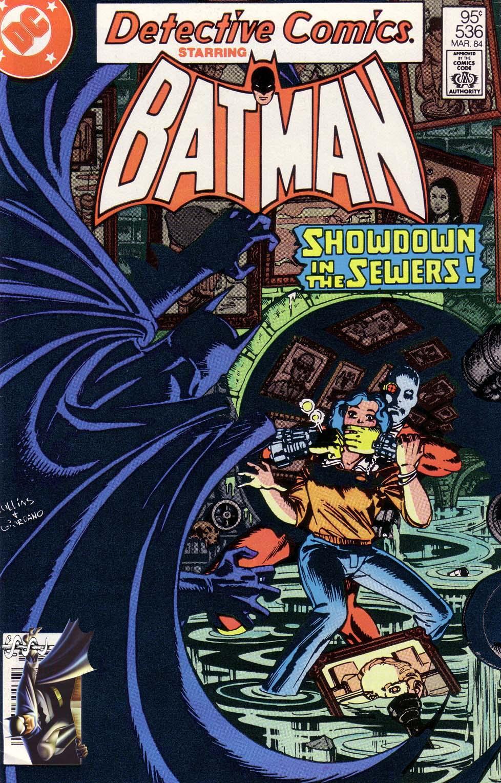 Detective Comics (1937) 536 Page 1