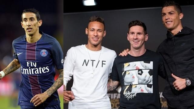 Messi, Ronaldo Neymar Di Maria