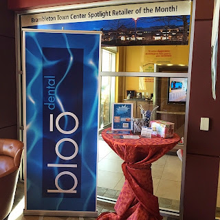 Our Brambleton Town Center Spotlight Tenant of the Month is Bloō Dental!