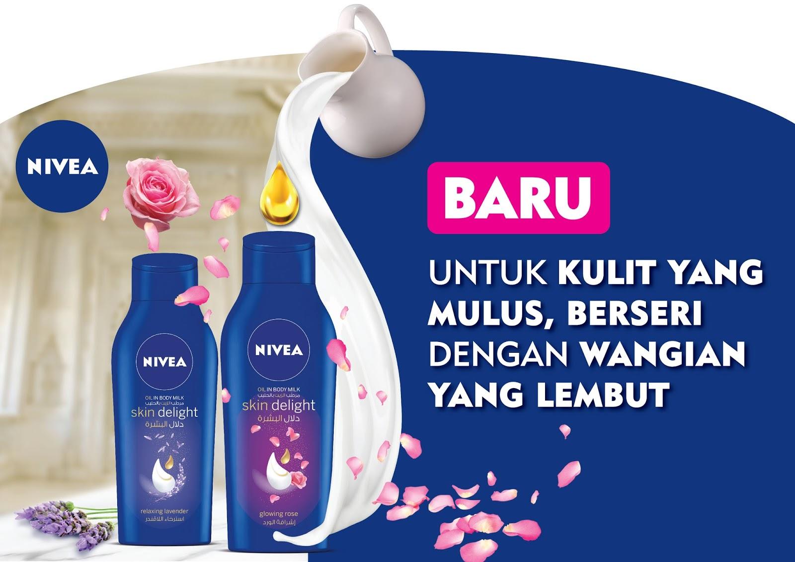 Manjakan Kulit Dengan NIVEA Skin Delight Body Milk