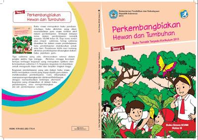 Buku Kelas 3 Guru dan Siswa Semester 1 dan 2 Kurikulum 2013 Revisi 2017