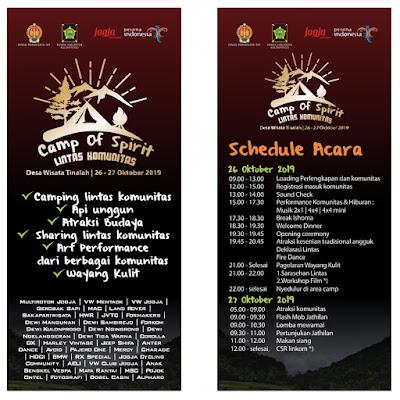 Camp of Spirit Lintas Komunitas DIY - Desa Wisata Tinalah