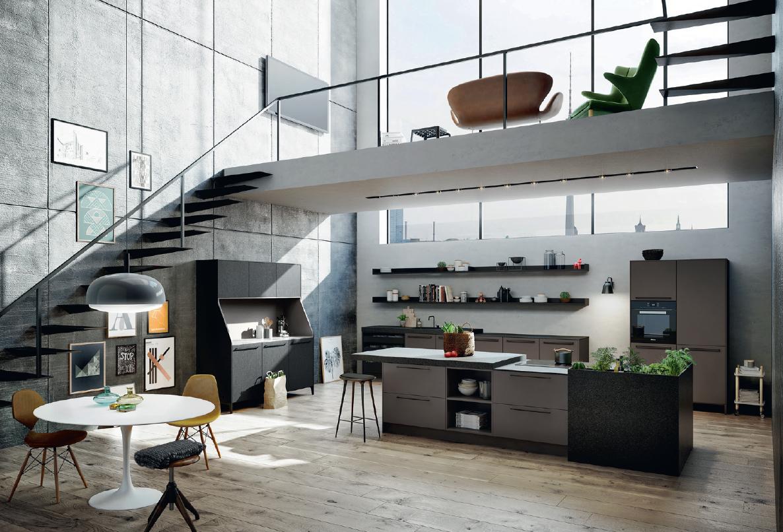 nordic blends twee keukens met wow effect. Black Bedroom Furniture Sets. Home Design Ideas