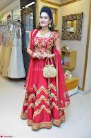 Jenny Honey in Stunning Dark Red Anarkali Dress at Splurge   Divalicious curtain raiser ~ Exclusive Celebrities Galleries 074.JPG
