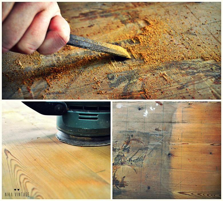 Seguimos con la segunda parte de mueble en restauración, damos vida a un mueble antiguo de imprenta o chibalete