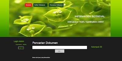 Download Aplikasi Search – Pencarian Dokumen Teks Tumbuhan Obat