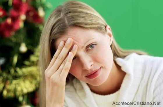 Preocupación y estrés en Navidad