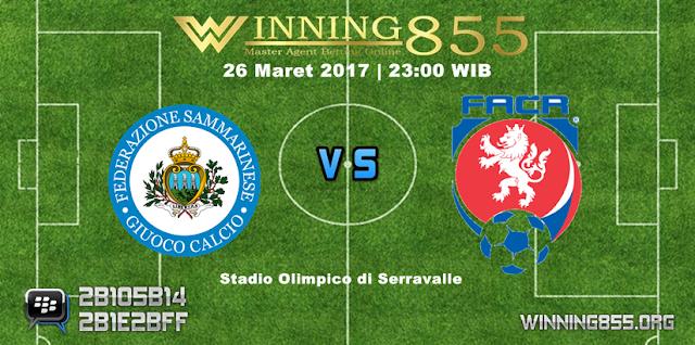 Prediksi Skor San Marino vs Republik Ceko 26 Maret 2017