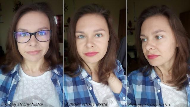 makijaż ust blogerki