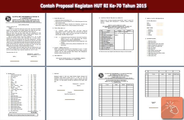 Contoh Proposal Kegiatan HUT RI Ke-70 Tahun 2015