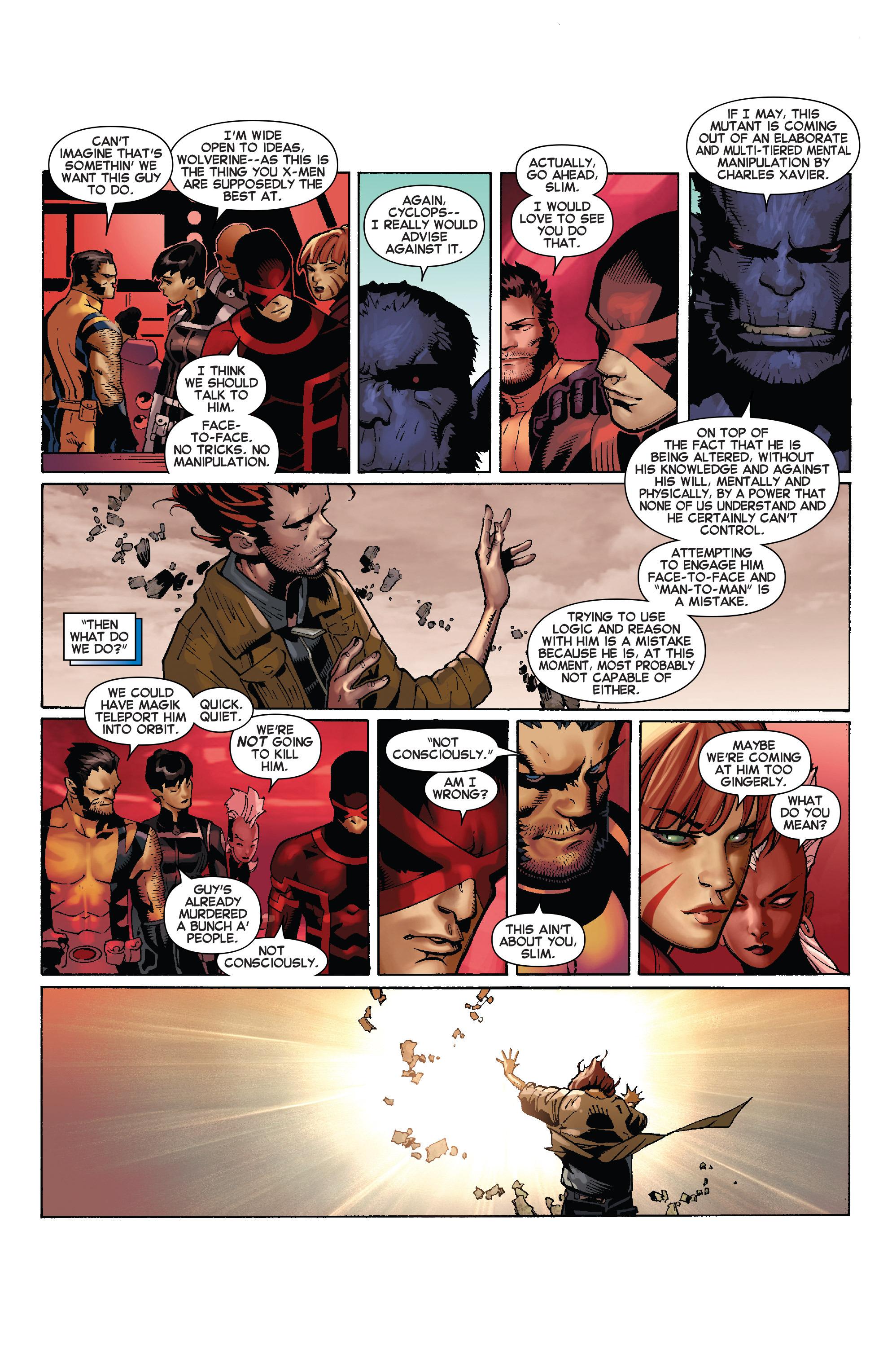 Read online Uncanny X-Men (2013) comic -  Issue #27 - 4