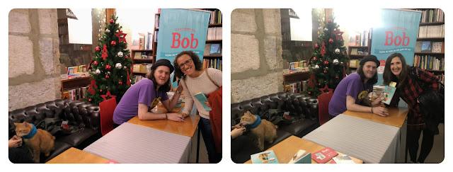 """lançamento do livro """"O que aprendi com Bob"""""""