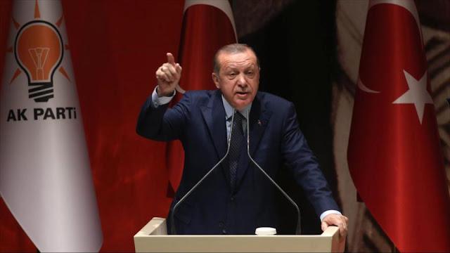 Erdogan asegura que EEUU miente al mundo entero