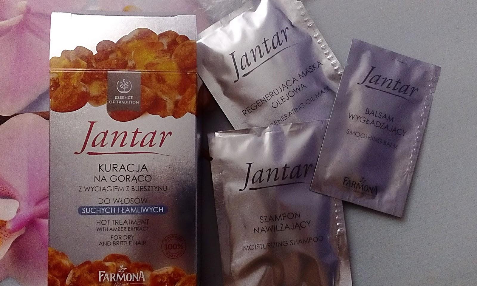 Kuracja Jantar na gorąco - opinia i efekty + mini aktualizacja włosów luty 2017