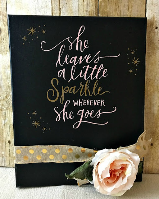 chalkboard message board