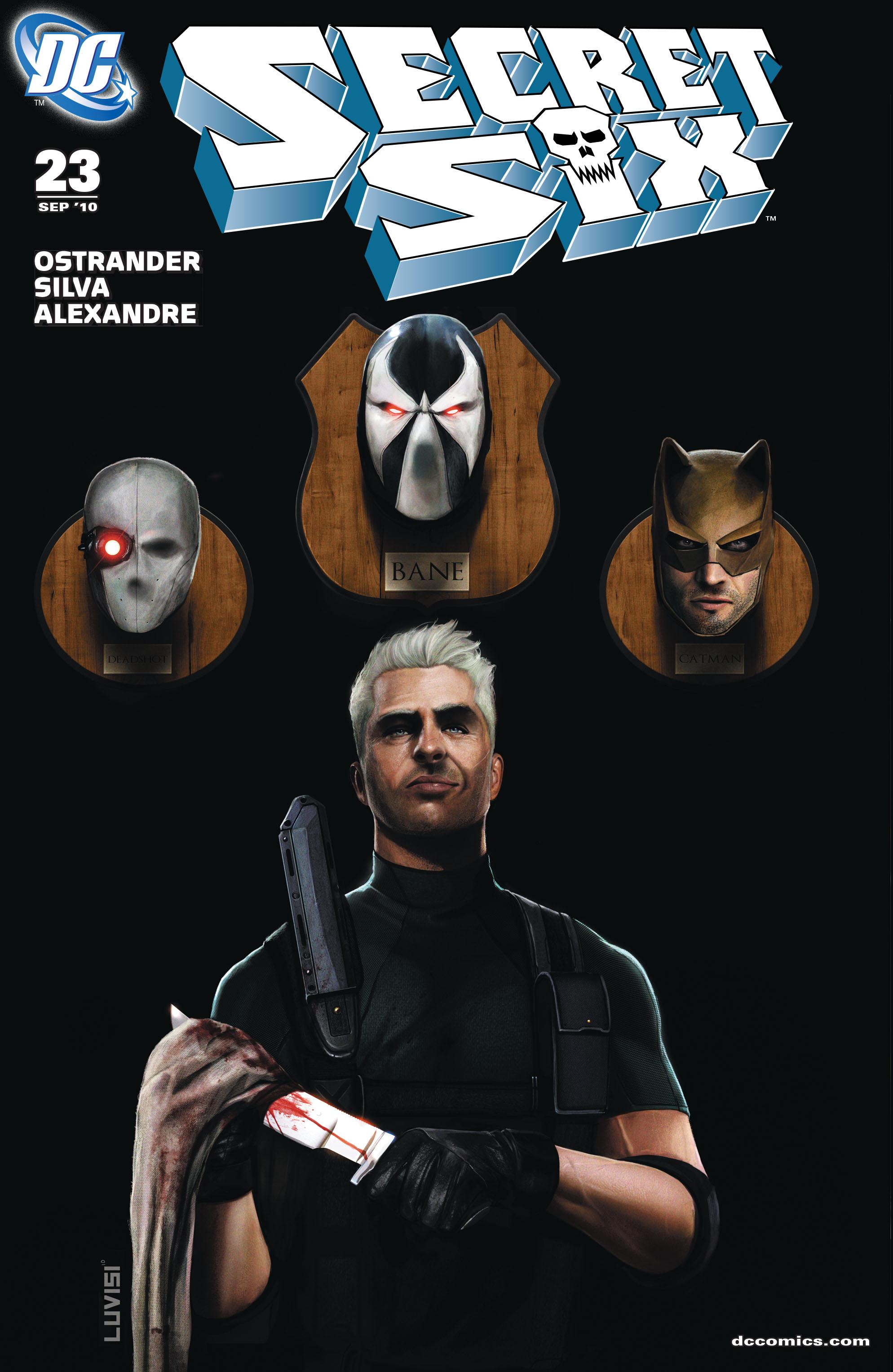 Read online Secret Six (2008) comic -  Issue #23 - 1
