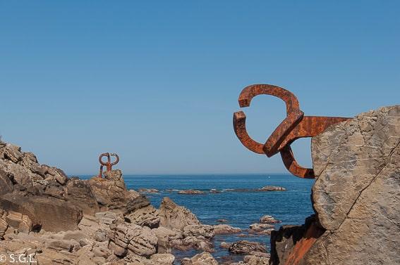 Donostia. El peine de los vientos. Ruta por el cantabrico del Pais Vasco