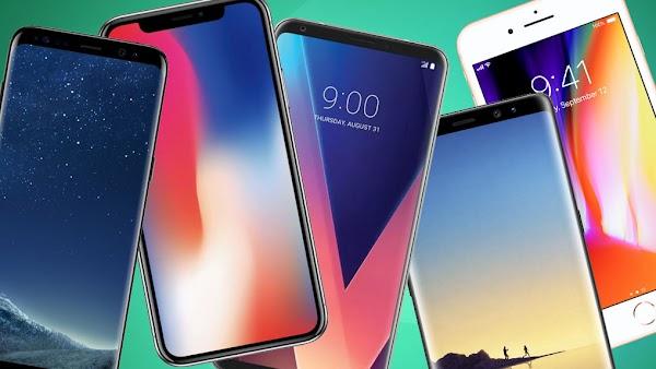 10 Smartphone yang paling dicari dan terbaik bulan April 2019